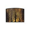 ELK lighting Woodland Sunrise 2 Light Wall Sconce In Aged Bronze