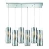 ELK lighting Chromia 6 Light Pendant In Polished Chrome