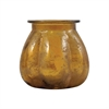 Pomeroy Picalo 6.4-Inch Vase In Textured Honey, Textured Honey