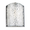 Encased Crystal 1 Light Vanity In Polished Chrome