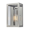 ELK lighting Parameters 1 Light Wall Sconce In Polished Nickel