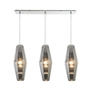 Pelham 3 Light Pendant In Polished Chrome