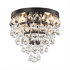 Ramira 3 Light Semi Flush In Oil Rubbed Bronze