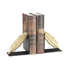 Ferrier Bookends In Gold And Black