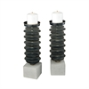 Prometheus Set of 2 Candle Holders