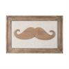 Moustache on Linen