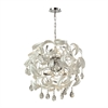 ELK lighting Zebula 16 Light Chandelier In White