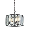 ELK lighting Garrett 4 Light Pendant In Oil Rubbed Bronze