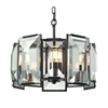 ELK lighting Garrett 5 Light Pendant In Oil Rubbed Bronze