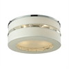 ELK lighting Regis 4 Light Semi Flush In Polished Chrome