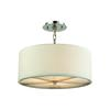 ELK lighting Selma 3 Light Pendant In Polished Nickel - Small