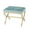 Sterling Comtesse Bench Gold,Duck Egg Blue