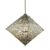 ELK lighting Viva Natura 8 Light Chandelier In Aged Silver