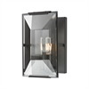 Garrett 1 Light Wall Sconce In Oil Rubbed Bronze