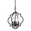 Chandette 4 Light Pendant In Oil Rubbed Bronze