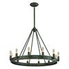 ELK lighting Lewisburg 12 Light Chandelier In Malted Rust