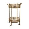 Banded Round Bar Cart