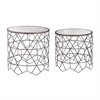 Sterling Vector Side Tables Black