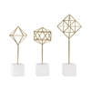 Sterling Theorem Decorative Stands Soft Gold,White
