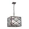 ELK lighting Radley 3 Light Pendant In Malted Rust