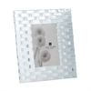 Lazy Susan Marlina Crystal Frame