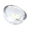 Lazy Susan Crystal Votive Cup