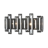 Crystal Heights 2 Light Vanity In Oil Rubbed Bronze With Clear Crystal
