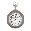 Haymarket Wall Clock In Preda Aged Grey