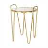 Sterling Via Rodeo Accent Table Gold