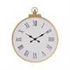 Sterling Karlova Wall Clock Gold Leaf