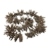 Lazy Susan Charcoal Driftwood Garland