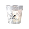 Pomeroy Glided Ice Votive Small, Snowdrop