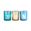 Beach Set of 3 Votives