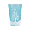 Pomeroy Snowlight Votive In Azure, Azure