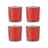 Modern Tree Set of 4 Votives