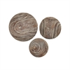 Pomeroy Canal Spheres - Set of 3, Ashwood