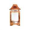 Pomeroy Bali Lantern, Burned Copper,Clear