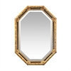Inlay Octagon Beveled Mirror