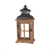 Pomeroy Clifton Lantern - Small, Aspen,Smoke