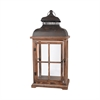 Pomeroy Clifton Lantern Large, Aspen,Smoke