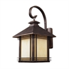 ELK lighting Blackwell 1 Light Outdoor Sconce In Hazelnut Bronze