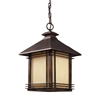 ELK lighting Blackwell 1 Light Outdoor Pendant In Hazlenut Bronze