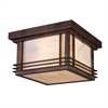 ELK lighting Blackwell 2 Light Outdoor Flushmount In Hazelnut Bronze