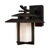 ELK lighting Kanso 1 Light Outdoor Sconce In Hazlenut Bronze