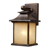 San Gabriel 1 Light Outdoor Sconce In Hazelnut Bronze