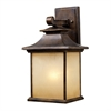 ELK lighting San Gabriel 1 Light Outdoor Sconce In Hazelnut Bronze