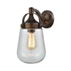 Lowden 1 Light Outdoor Wall Sconce In Hazelnut Bronze