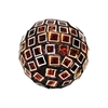 Pomeroy Kingsway 3-Inch Sphere, Metallic Mixed Mosaic