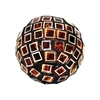 Pomeroy Kingsway 4-Inch Sphere, Metallic Mixed Mosaic