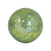 Montage 4-Inch Sphere In Lemongrass Crackle